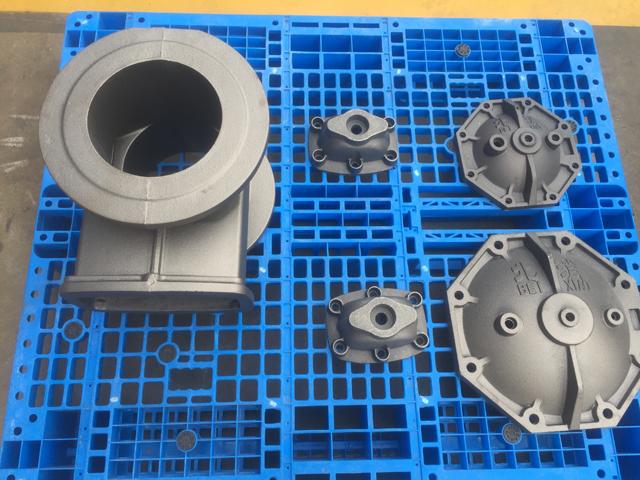 管件造型铸件效果